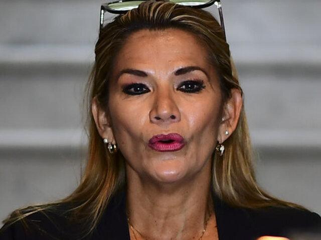Crisis en Bolivia: senadora Jeanine Áñez se declara presidenta interina