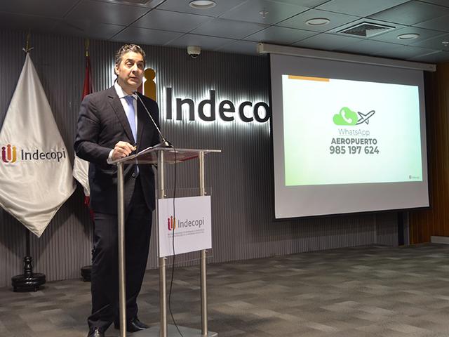 Indecopi atenderá reclamos de pasajeros en 24 aeropuertos del país