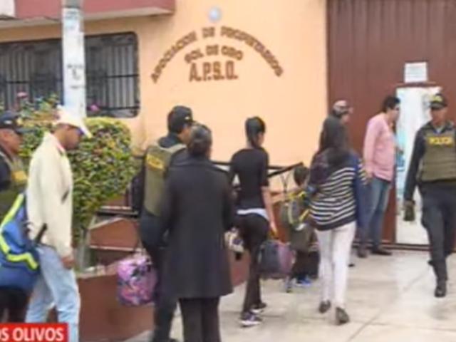 Lima Norte: intervienen bus con 36 extranjeros que ingresaron de manera ilegal al país