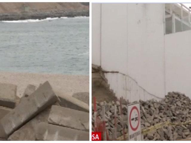 Punta Hermosa: alcalde y vecinos protestan por obras inconclusas de agua y alcantarillado