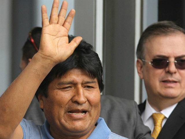 Evo Morales y la odisea para llegar a México