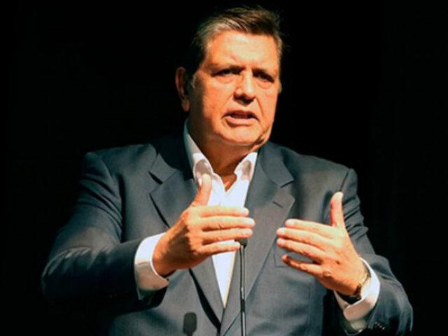 Exsecretario de Alan García: