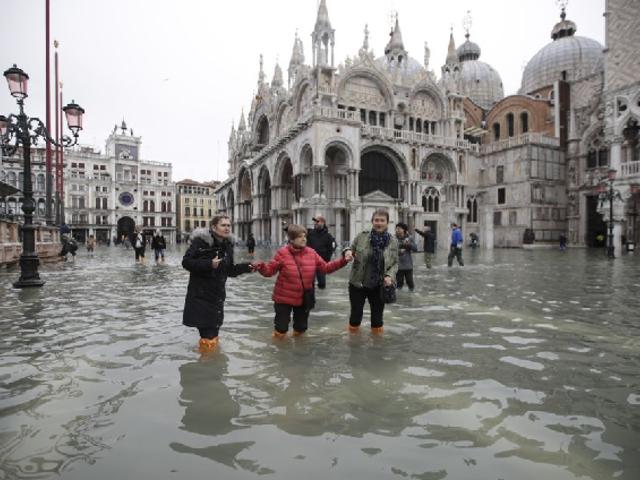 Italia: Venecia sufre la peor inundación de los últimos 50 años