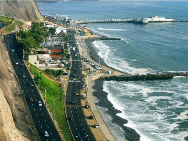 Renovarán geomallas de los acantilados de la Costa Verde