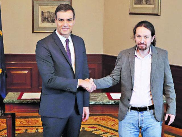 España: PSOE llega a acuerdo con Unidas Podemos