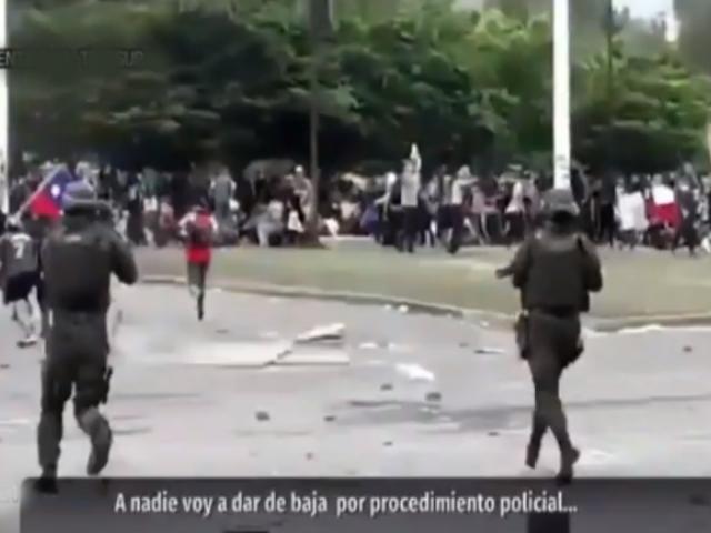 """Protestas en Chile: filtran audio de jefe policial en el que promete """"no dar baja a nadie"""""""