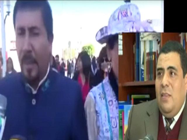 Defensoría del Pueblo condena discursos de odio de Elmer Cáceres