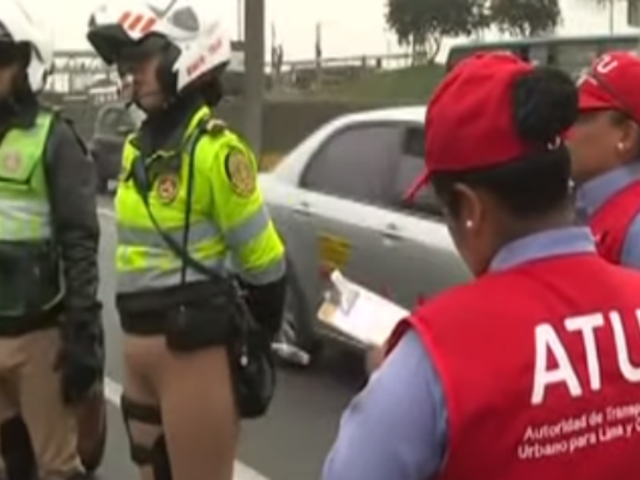 Tolerancia cero: ATU realizó primer operativo en Lima