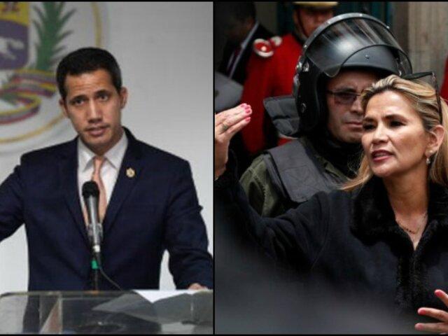 Bolivia: Jeanine Áñez reconoce a Juan Guaidó como presidente venezolano