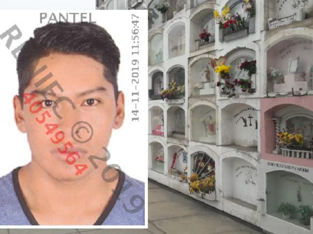 Reportan presunto suicidio de policía dentro de cementerio El Ángel