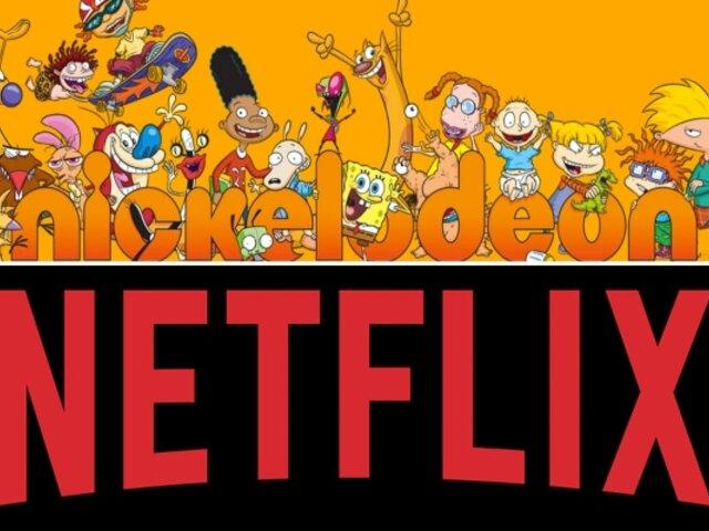 Netflix y Nickelodeon se unen para revivir sus clásicos animados