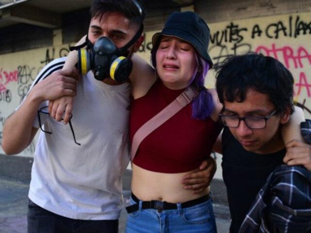 """Chile: Gobierno decreta """"alerta sanitaria"""" para tratar a afectados por crisis social"""