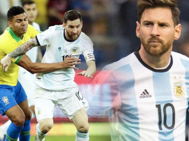 El regreso de Lionel Messi con la Albiceleste ante Brasil