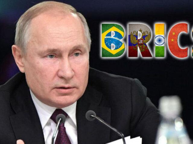 Vladímir Putin llegó a Brasil para la cumbre anual de los BRICS