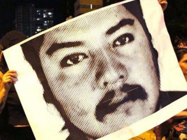 Chile: se registró nueva jornada de protestas por aniversario de muerte de comunero mapuche