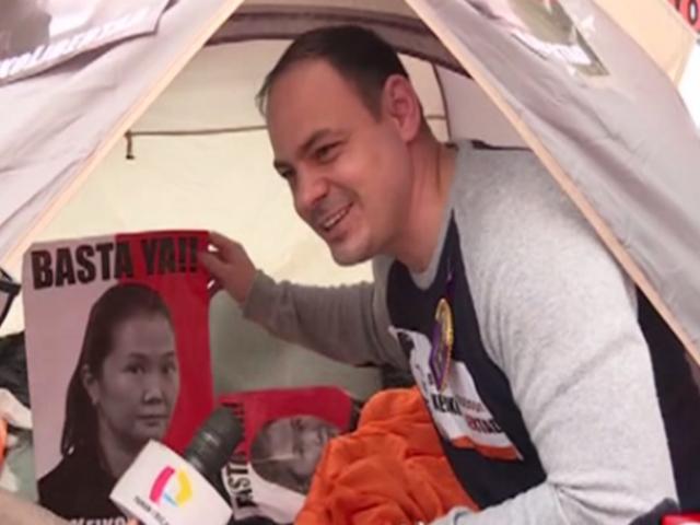 """Mark Vito en su primer día de huelga de hambre: """"Viví y moriré por ella"""""""
