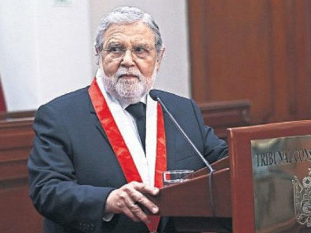 Ernesto Blume presentó su proyecto de sentencia que plantea excarcelación de Keiko Fujimori