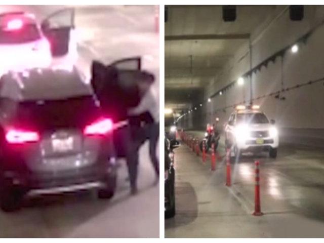 Línea Amarilla: realizan simulacro de seguridad en túnel ante asaltos