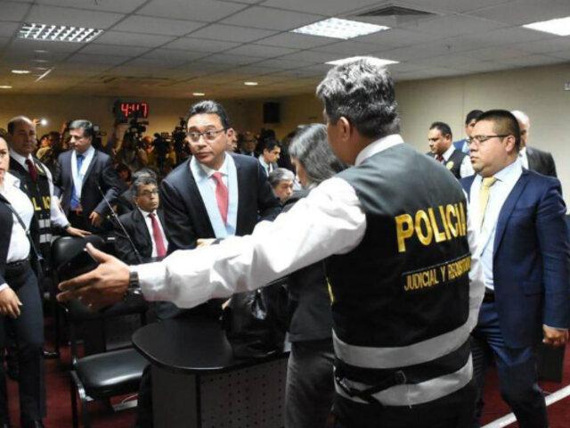 Caso Odebrecht: PJ evalúa apelación de 14 árbitros con orden de prisión preventiva