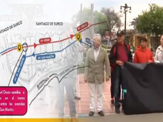 Barranco: vecinos en contra de cambio de sentido en avenidas Miguel Grau y San Martín