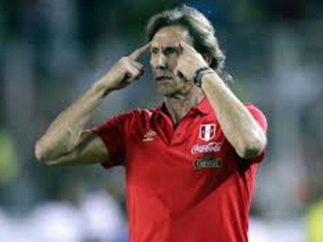 """Ricardo Gareca: """"Respetamos decisión de jugadores chilenos"""""""