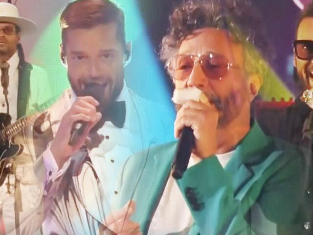 Ricky Martin, Fito Páez, Robi Draco Rosa y Beto Cuevas homenajearon a Soda Stereo