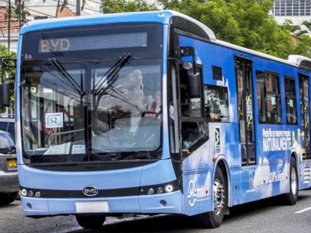 Colombia: empiezan a circular nueva línea de buses eléctricos en Medellín