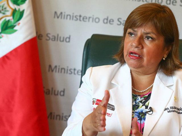 Zulema Tomás: exministra de Salud dio positivo a prueba de coronavirus