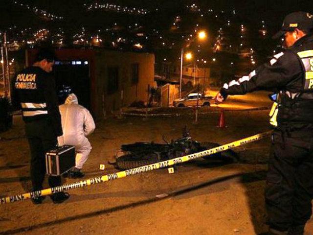 Manchay: joven muere asesinado a balazos en presunto ajuste de cuentas