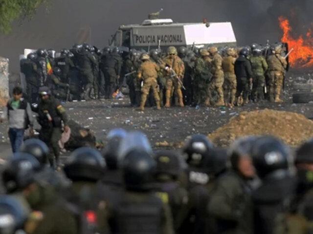 Bolivia: 5 muertos y más de 20 heridos durante enfrentamiento entre policías y manifestantes