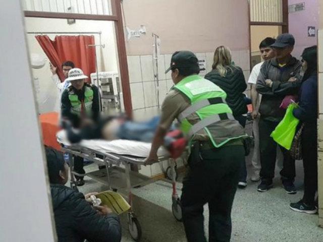 Anciano murió aplastado por llanta de tractor en Arequipa