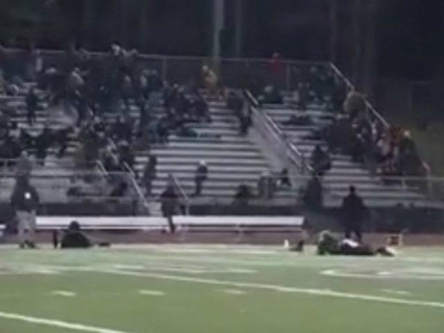 EEUU:  dos heridos dejó tiroteo durante partido de fútbol americano
