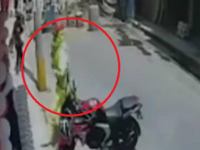 Huacho: vigilante resulta herido durante robo frustrado a entidad bancaria