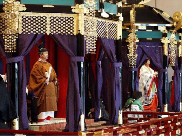 Japón: gastan suma millonaria en ritual de nuevo emperador