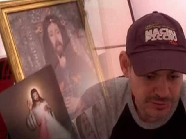 """Mark Vito en su quinto día de huelga de hambre: """"Con la fe de Dios, Keiko va a salir libre"""""""