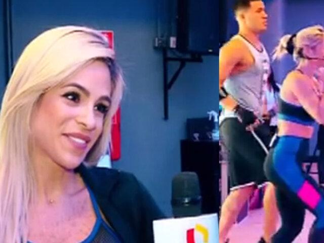 Michelle Lewin: la reina del fitness muestra su rutina para lucir un cuerpo envidiable