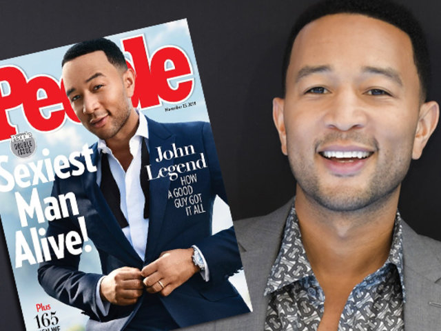 John Legend es elegido como el hombre más sexy del mundo