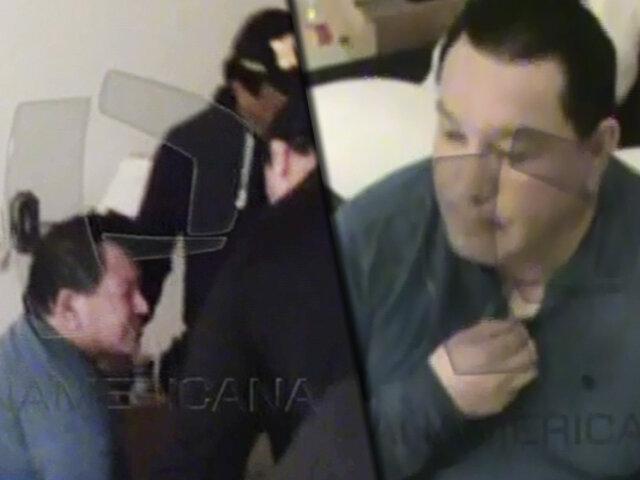 EXCLUSIVO | Mientras dormía: imágenes exclusivas de la captura de Félix Moreno