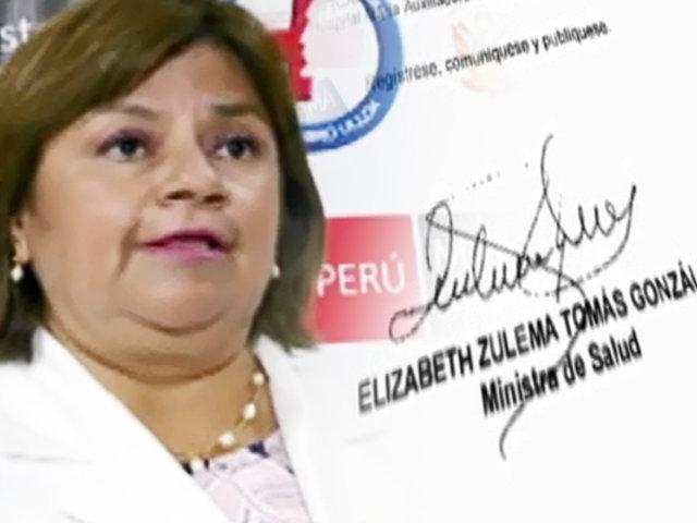 EXCLUSIVO   Los descubrimientos que provocaron la renuncia de Zulema Tomás