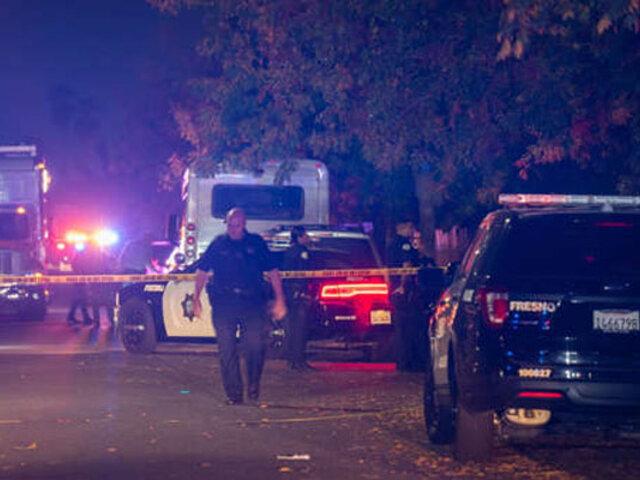EEUU: tiroteo masivo en casa donde amigos se reunieron a ver fútbol