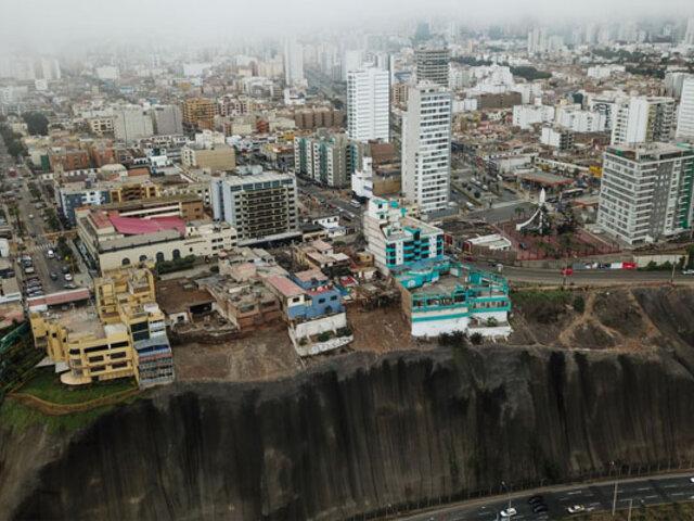 Costa Verde: amplían estado de emergencia en acantilados por 60 días más