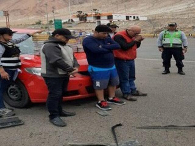 Arequipa: chilenos que transportaban hasta 50 kilos de droga fueron detenidos