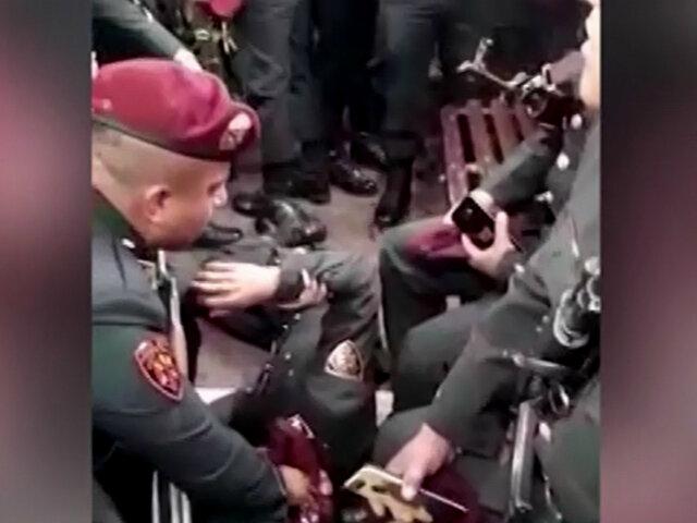Panamericana Sur: seis policías heridos tras violento choque con camión cisterna
