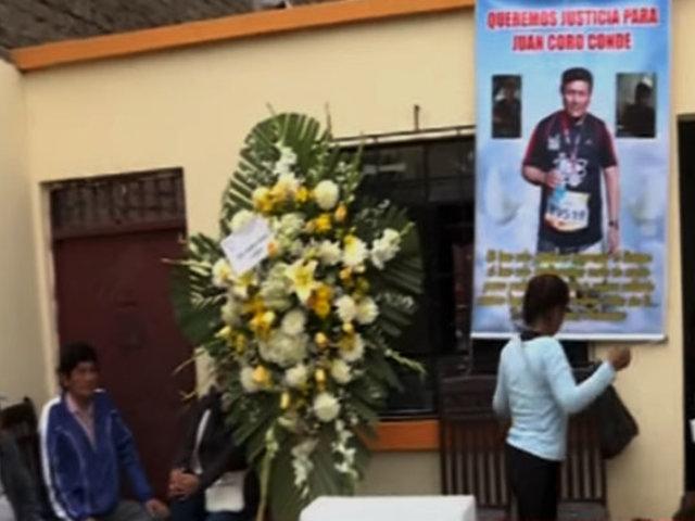 SMP: velan a peruano que falleció durante protestas en Chile luego de tres semanas