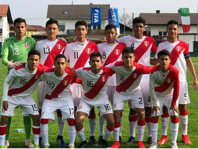Lista de convocados a la Selección peruana Sub-15