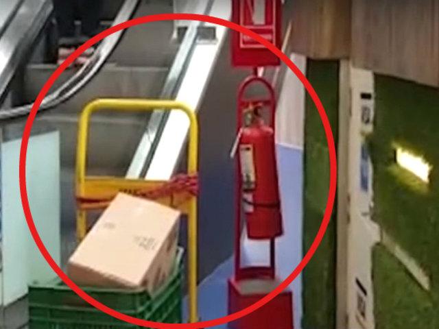Navidad 2019: bomberos advierten sobre medidas de seguridad en centros comerciales