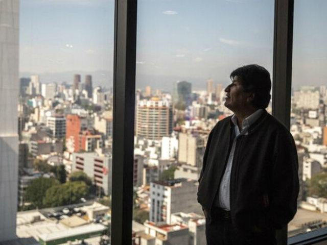 """Evo Morales: """"Retiro mi candidatura si me dejan terminar mi mandato"""""""