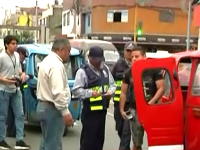 Carmen de la Legua: realizan operativo contra mototaxis informales