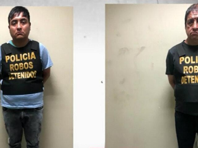 """""""Los terribles escaperos"""": padre e hijo robaban equipajes en agencias de transportes"""