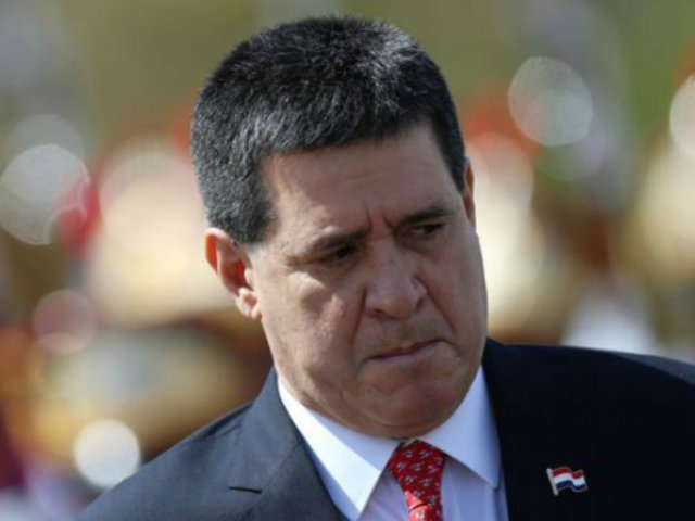 Ordenan en Brasil prisión para expresidente de Paraguay Horacio Cartes